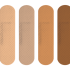 Band aids in multiple skin tones